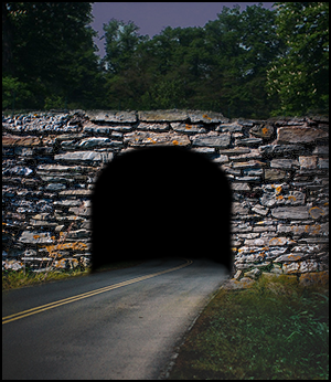 Dark tunnel